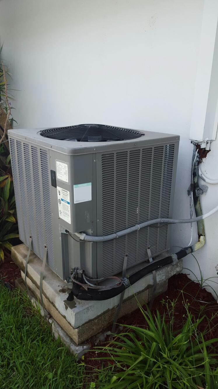 Indian Rocks Beach, FL - Rheem heat pump ac system ac tune up.