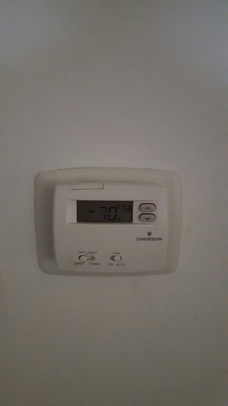 Gulfport, FL - Defective thermostat replaced on trane heat pump ac system.
