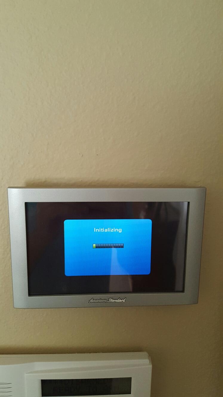 Belleair Beach, FL - American standard thermostat issue.