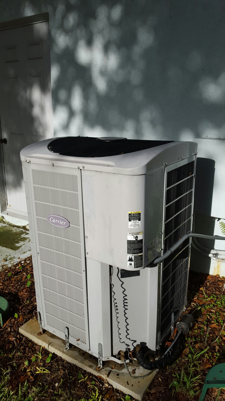 Seminole, FL - carrier ac heat pump system repair.
