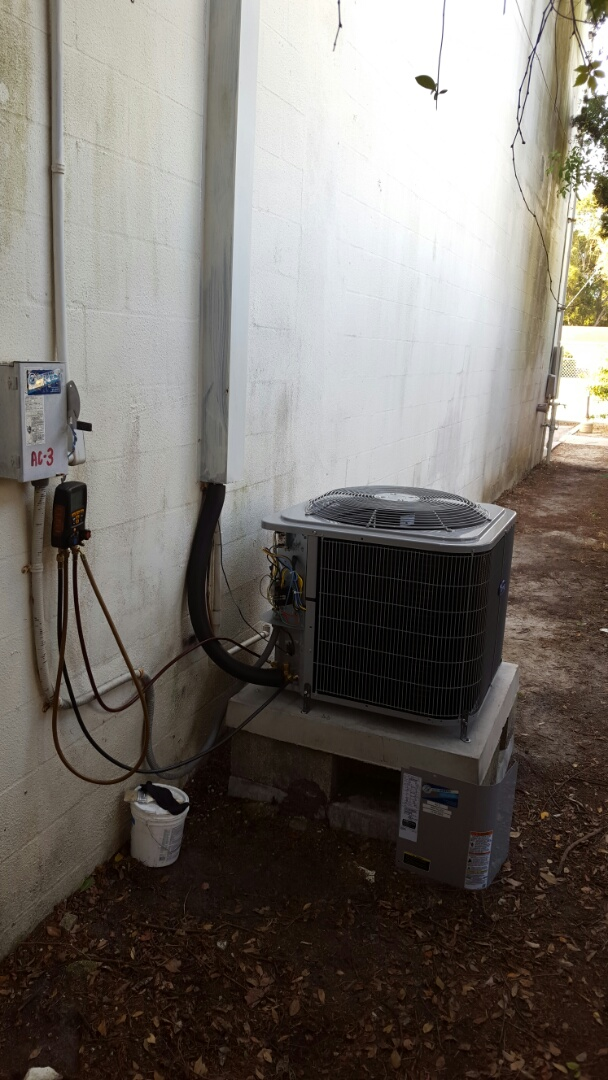 Pinellas Park, FL - Carrier ac system installation.