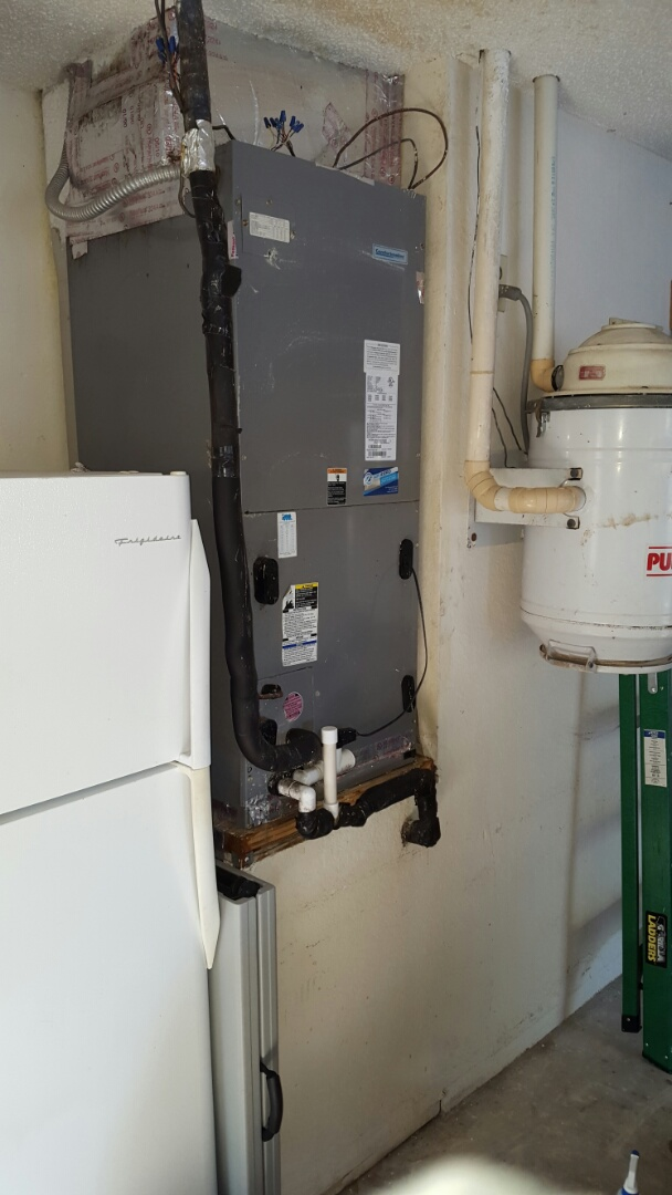 Seminole, FL - Comfortmaker air handler ac tune up.
