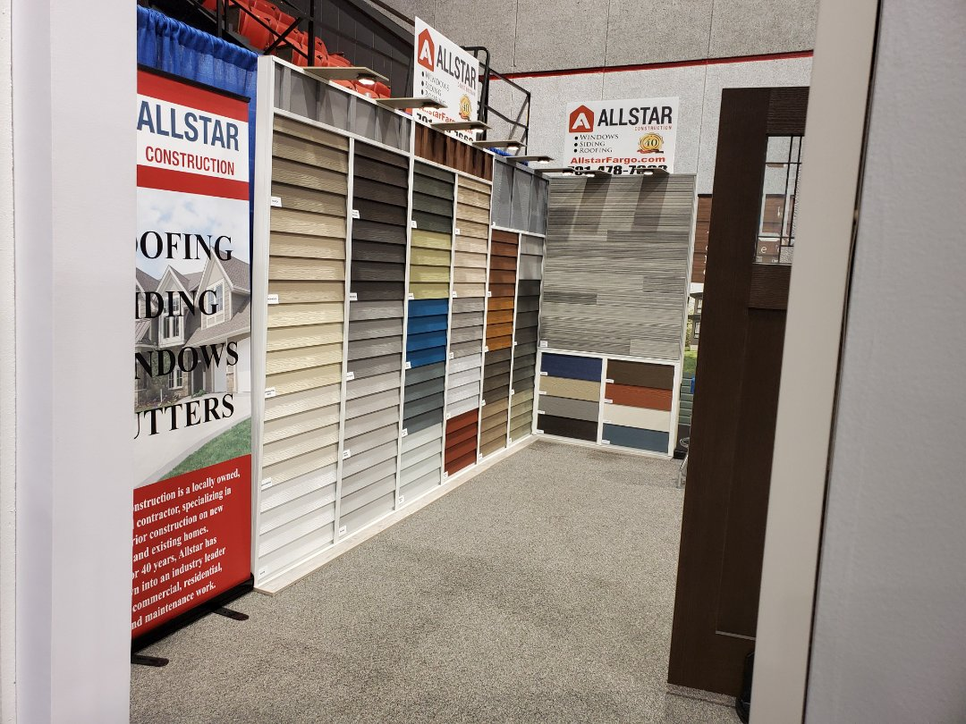 Fargo, ND - For all your roofing, siding, and window needs. Stop and see our experts at the Fargo remodeling expo.