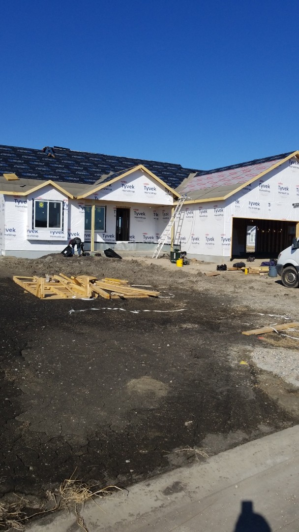 Fargo, ND - New construction.   Certainteed Landmarks.