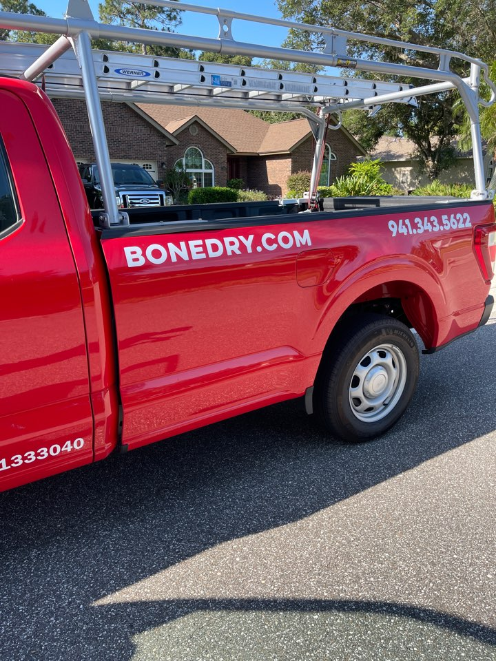Bradenton, FL - Giving customer options to take care of his gutter  issues
