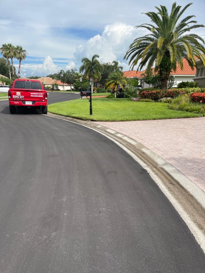 Bradenton, FL - Helping a customer solve a gutter issue