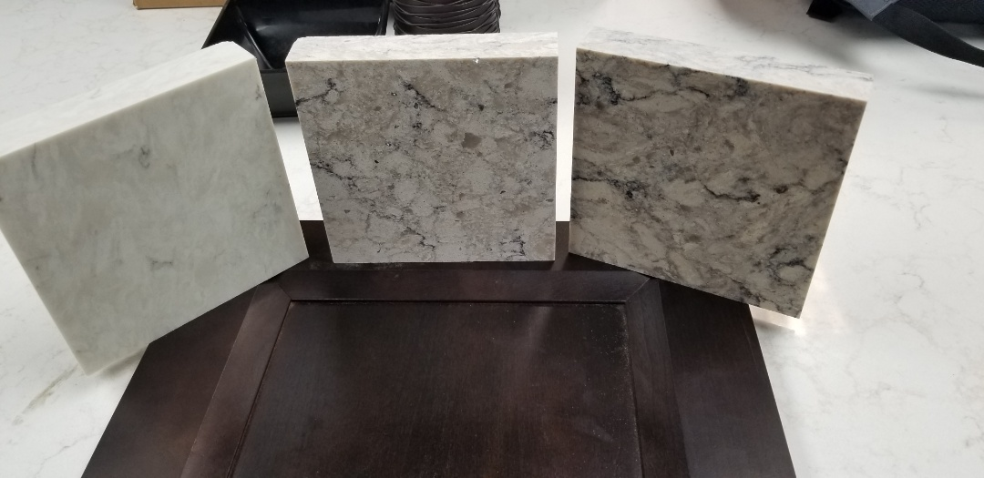 We almost made our countertop selection from World Stone in Farminton.  As always great help and great selections