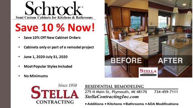 SAVE10% OFF SCHROCK CABINETS!