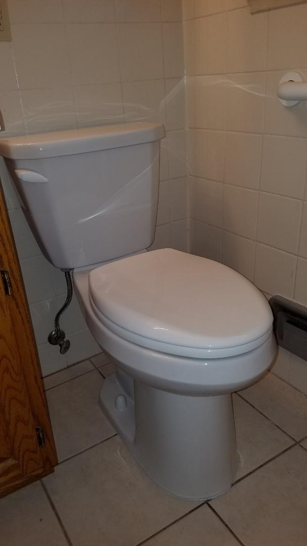 East Bethel, MN - Leaking in ceiling. Leaking toilet. Pull and reset toilet.