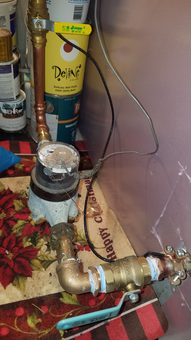 New Brighton, MN - New shut off valves at water meter. Water pipe repair.