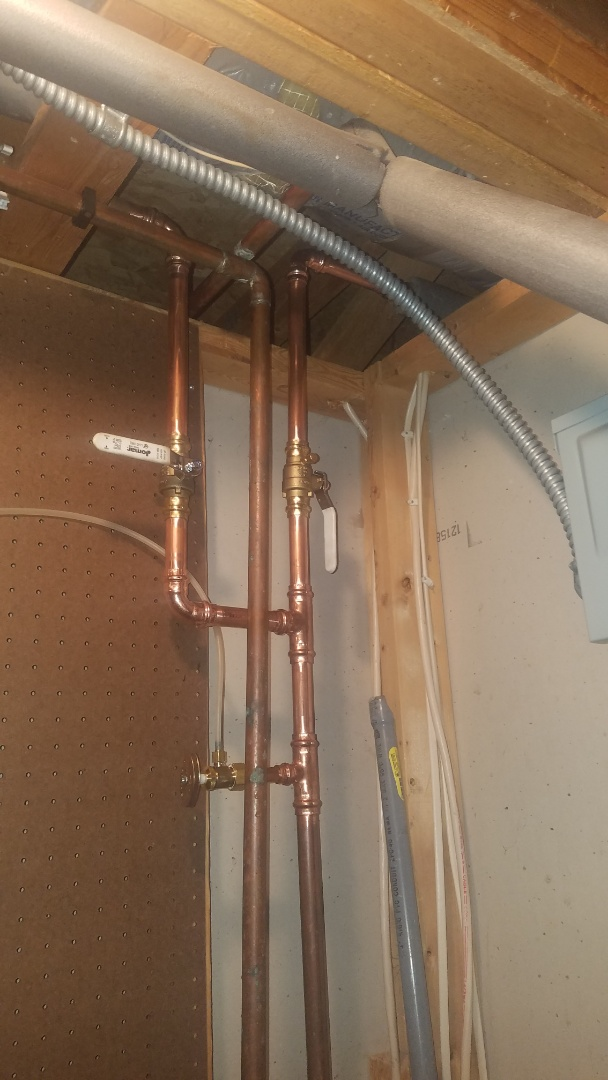 Coon Rapids, MN - Water pipe repair. Replace lawn faucet shut off valves.