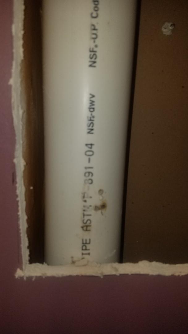 "Ham Lake, MN - Leak in drain pipe. Replace leaking section of 3"" main drain pipe."