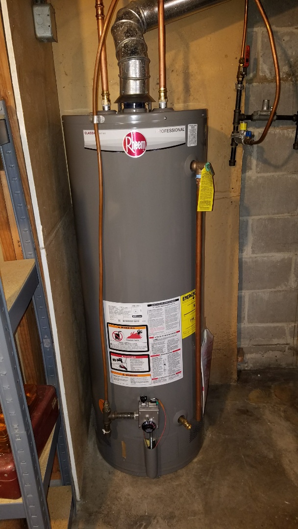 Columbia Heights, MN - Water heater repair. New water heater. General plumbing.