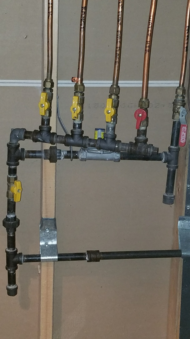 Shoreview, MN - gas pipe installation. water pipe repair.