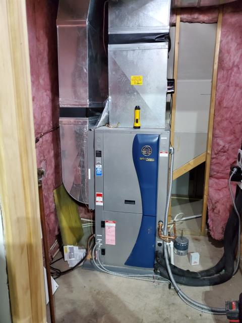 Hebron, IN - Repairing geothermal unit auxiliary heater