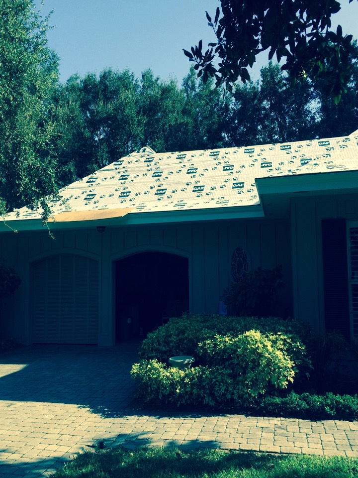 Englewood, FL - Shingle re-roof in Englewood.