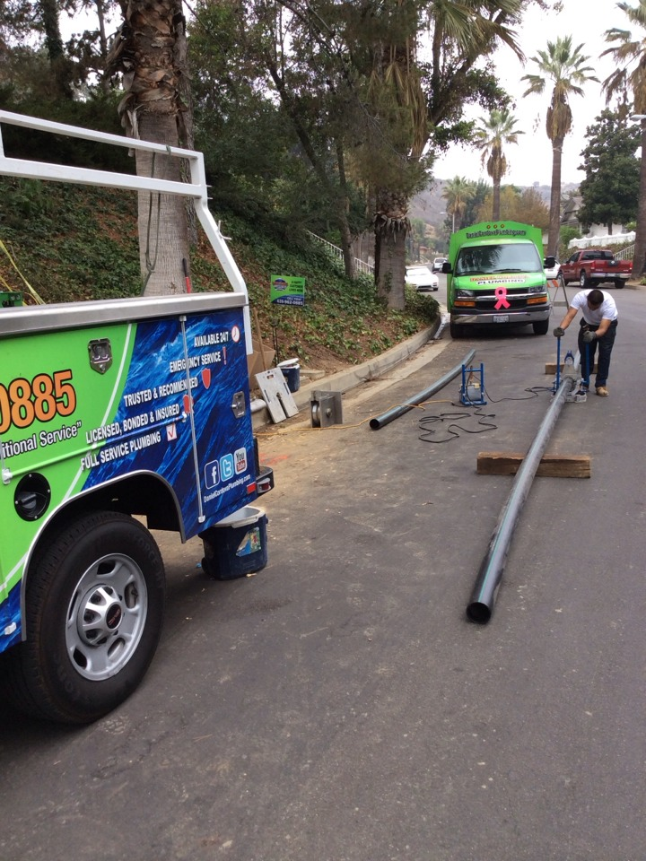 Whittier, CA - Sewer replacement