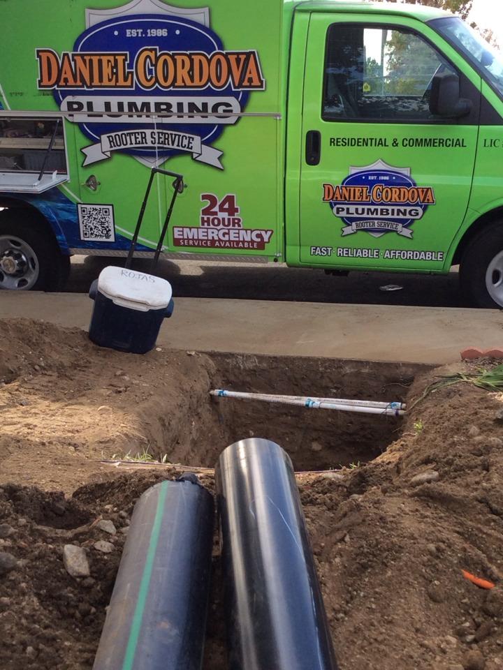 Azusa, CA - Sewer repair