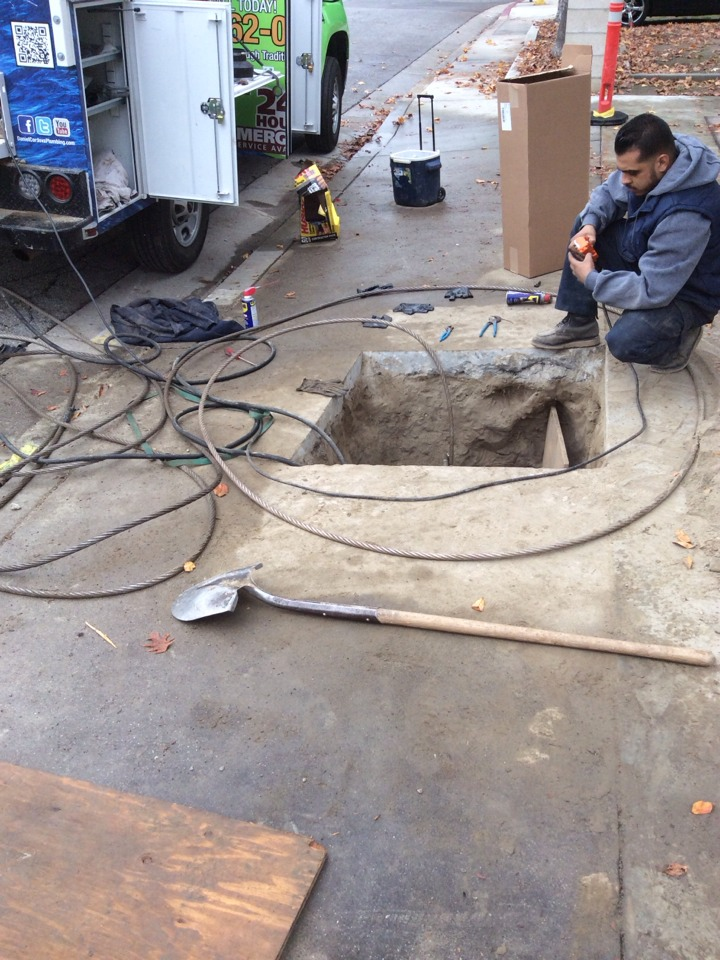 El Monte, CA - Sewer Line Replacement by Pipe Burst Method
