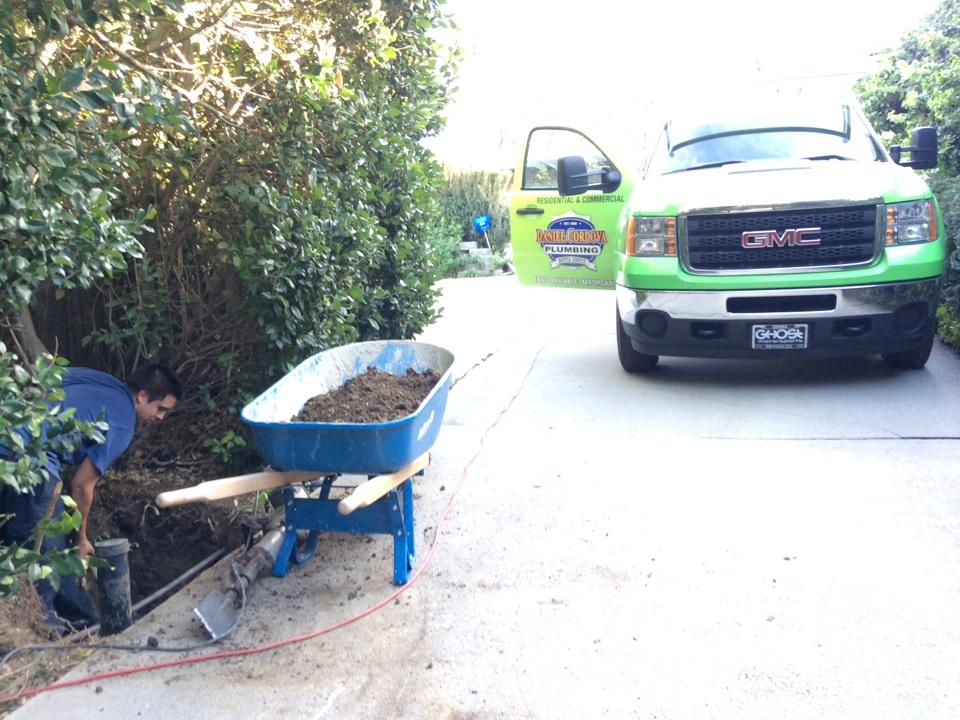 Los Angeles, CA - Sewer Line Excavation/Preparation For Liner