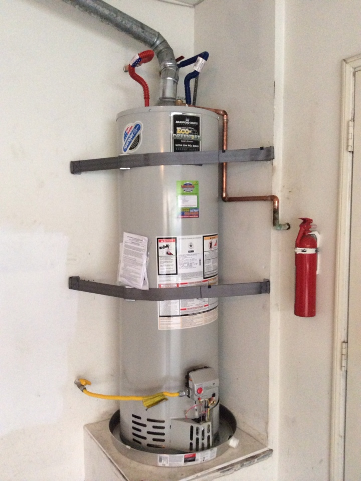 Duarte, CA - Water Heater Installation w/ Gas and Water Ball Valve Shut Off Replacement