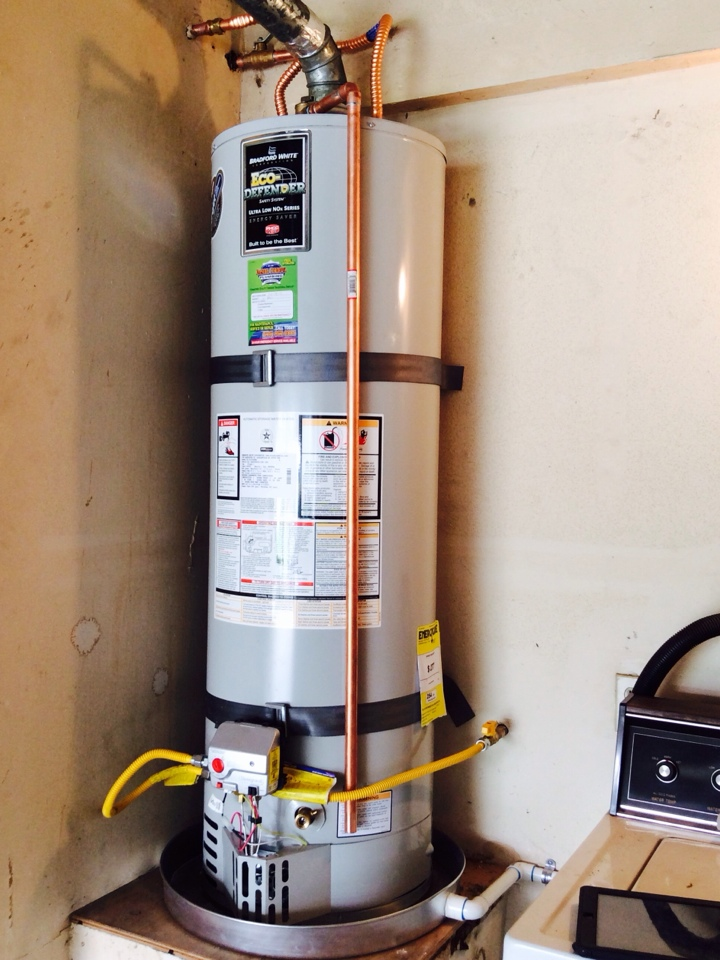 West Covina, CA - 40 gal. Gas Water Heater Installation