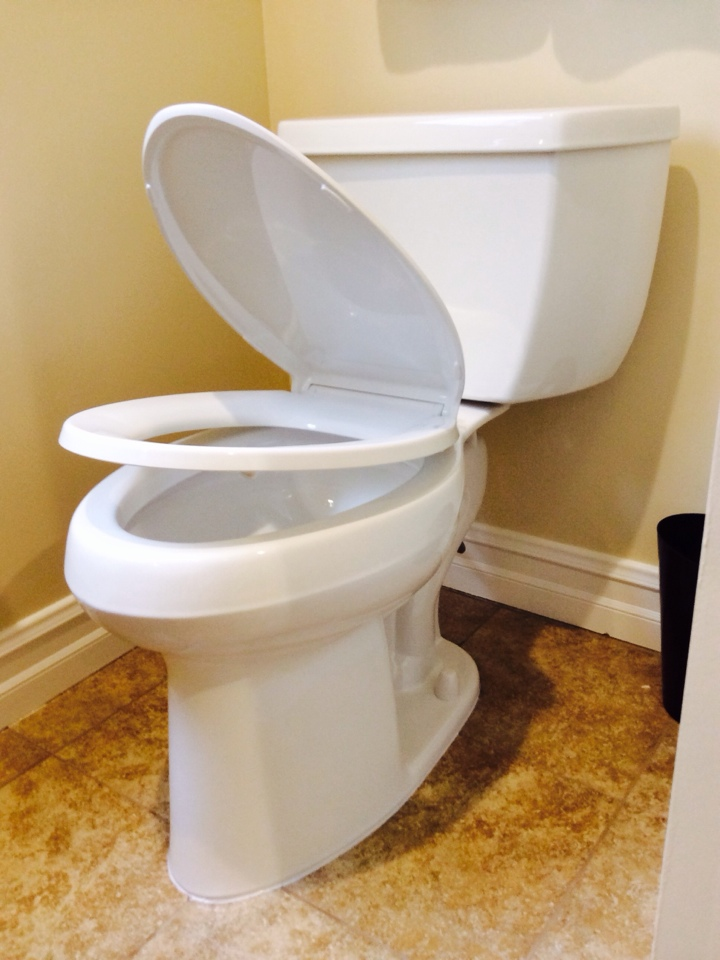 Downey, CA - Kholer Wellworth Elongated Pressure Assisted Toilet Installation
