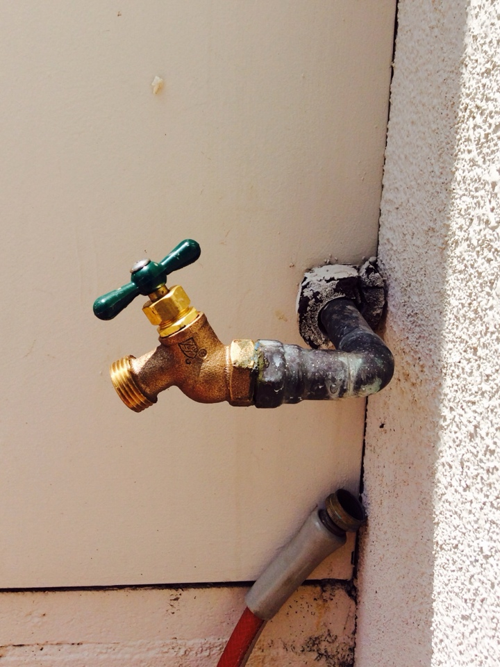 Downey, CA - Water Line Hose Bib Replacement
