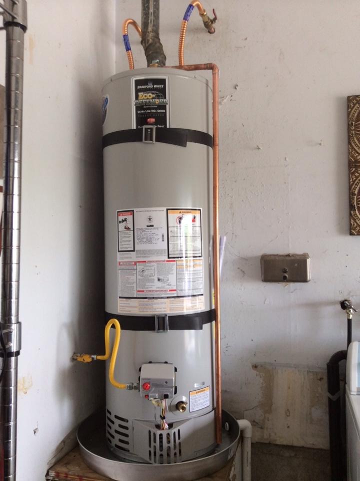 San Dimas, CA - Water Heater Installation/ Toilet & Wax Seal Re-Set