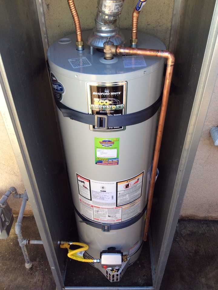 Azusa, CA - 40 Gal Water Heater Replacement