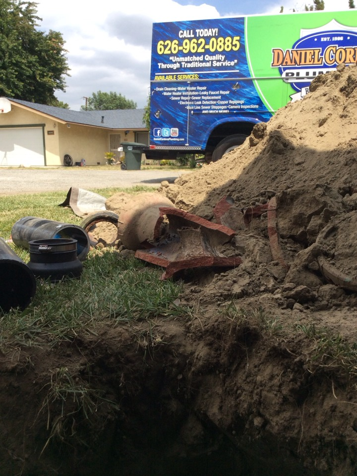 West Covina, CA - Sewer repair . El Monte CA