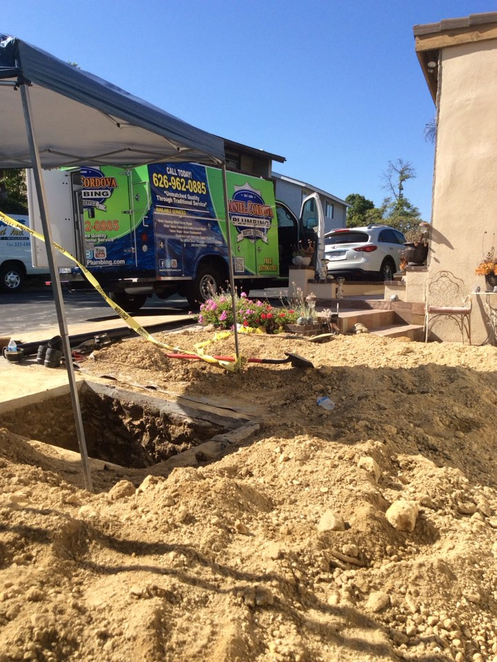 Hacienda Heights, CA - Sewer repair