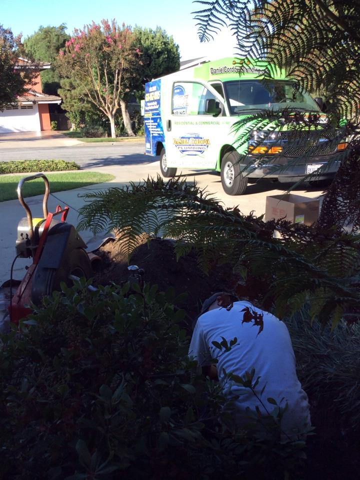Hacienda Heights, CA - Sewer repair