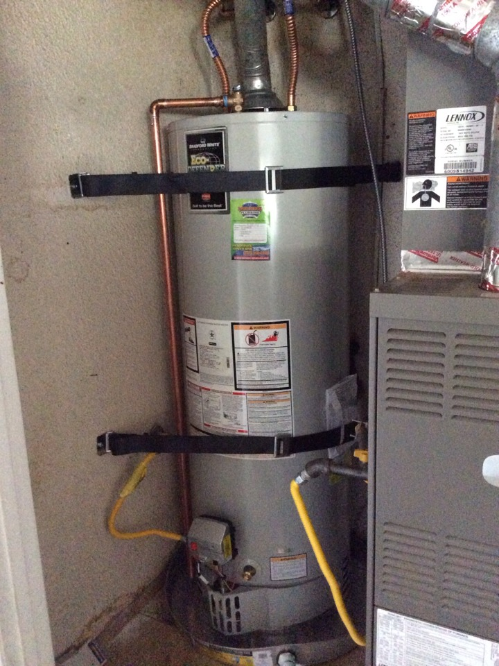 Covina, CA - Water heater replacement