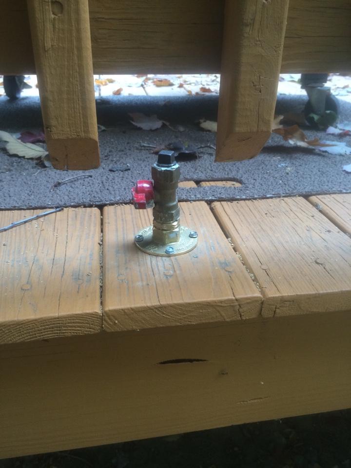 Wharton, NJ - Run alpha-flex flexible gas pipe to grill and gas boiler
