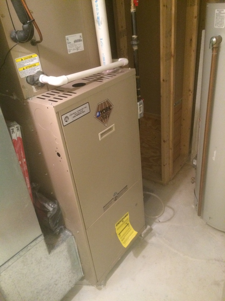 Hackettstown, NJ - Repair broken wire on york forced hot air gas furnace