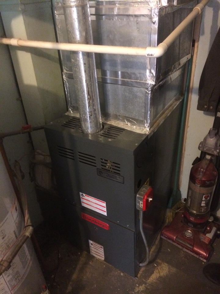 Wharton, NJ - Service and maintenance goodman forced hot air gas furnace
