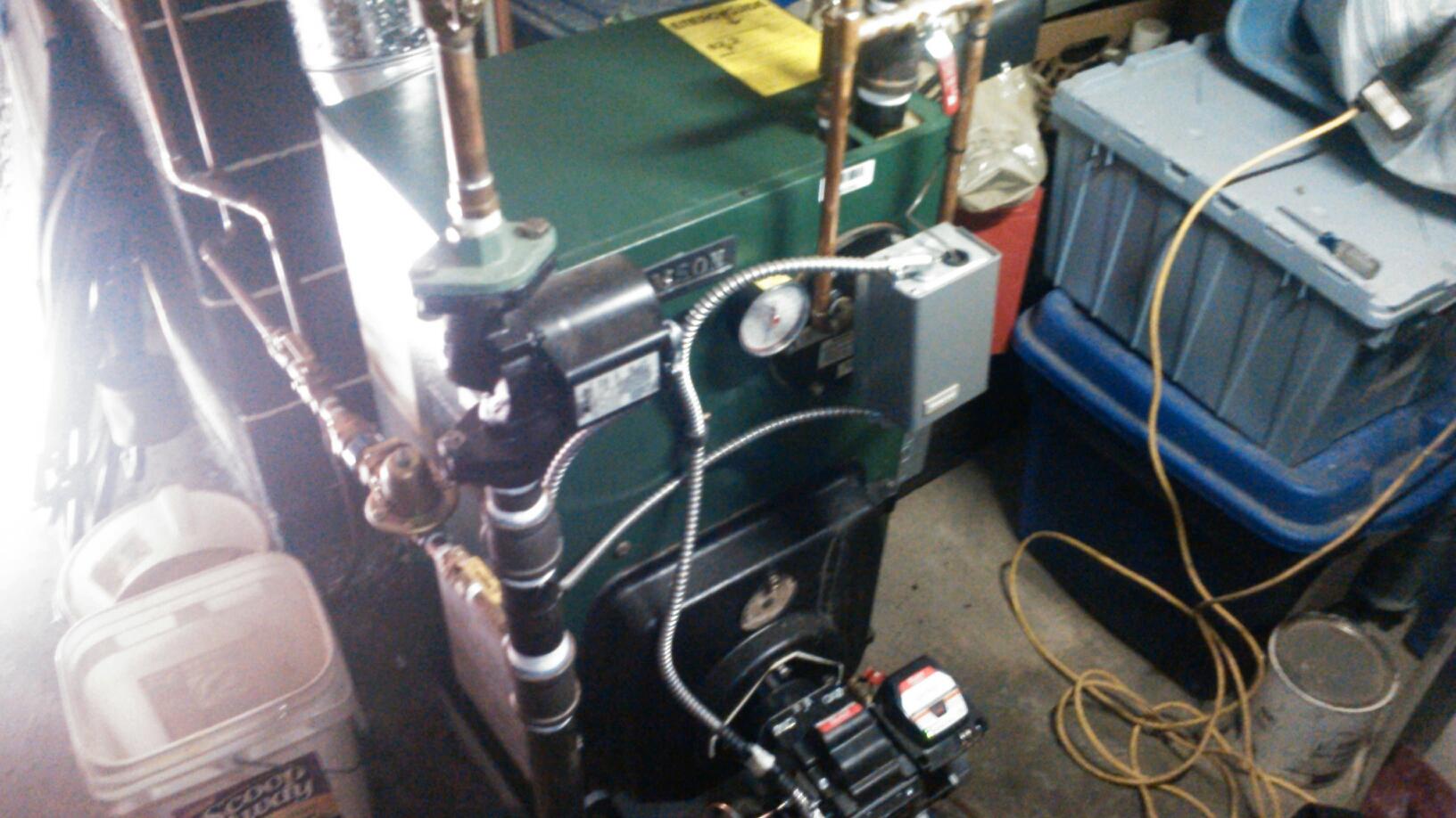 Mine Hill Township, NJ - Service Wllliamson oil boiler