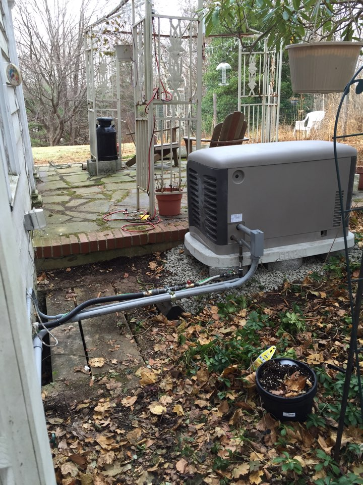 Washington Township, NJ - Install a Kohler automatic home back up generator.