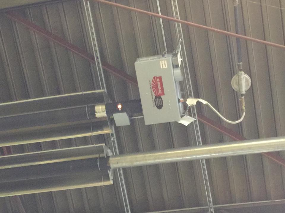 Wharton, NJ - Rewire Re-Verber-Ray inferred space heater