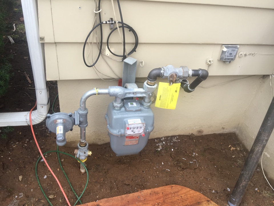 Mine Hill Township, NJ - Install gas line for oil to gas conversion