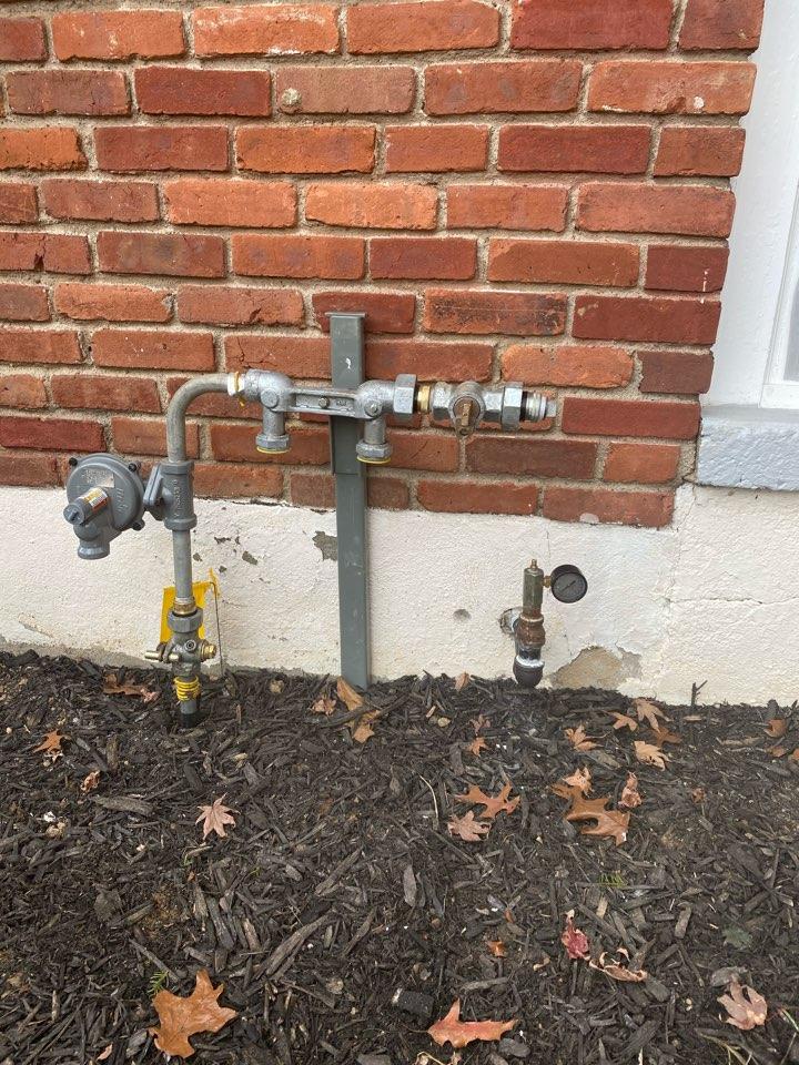 Dover, NJ - Run gas line for oil to gas conversion