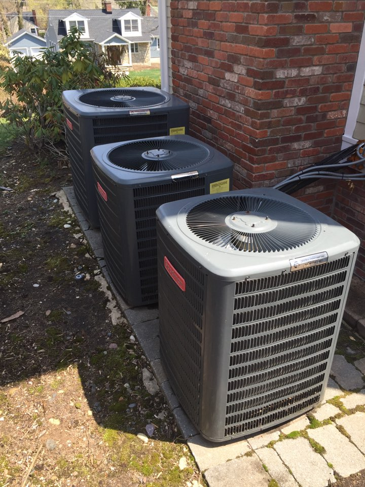 Madison, NJ - Annual preventive maintenance on 3 Goodman air conditioning units.