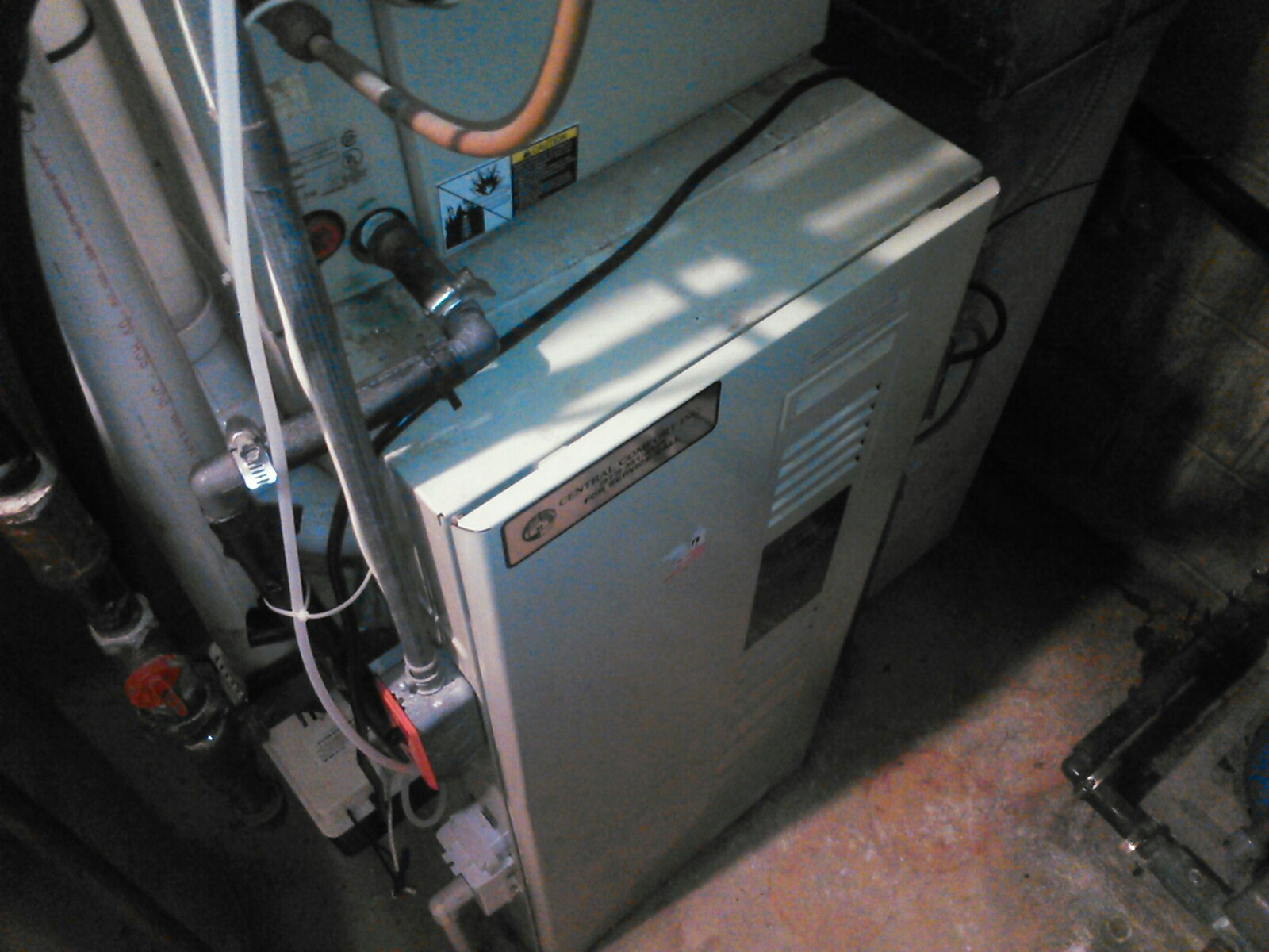 Roxbury Township, NJ - Heating service Call.  Unit not blowing warm air. Check Carrier furnace.