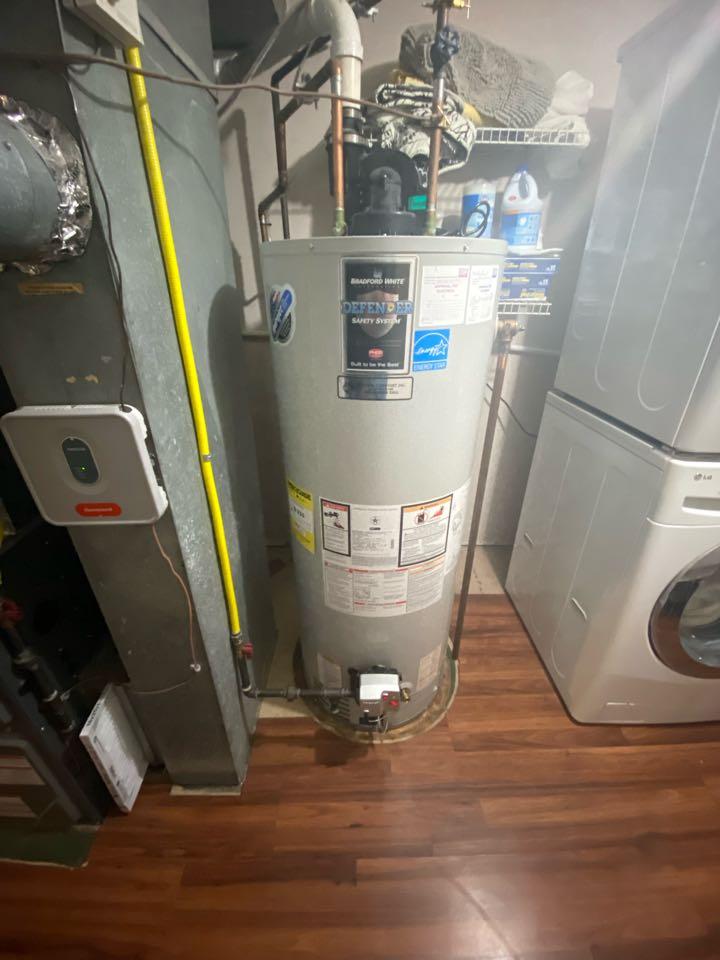 Jefferson, NJ - Replace vapor sensor on Bradford white hot water heater