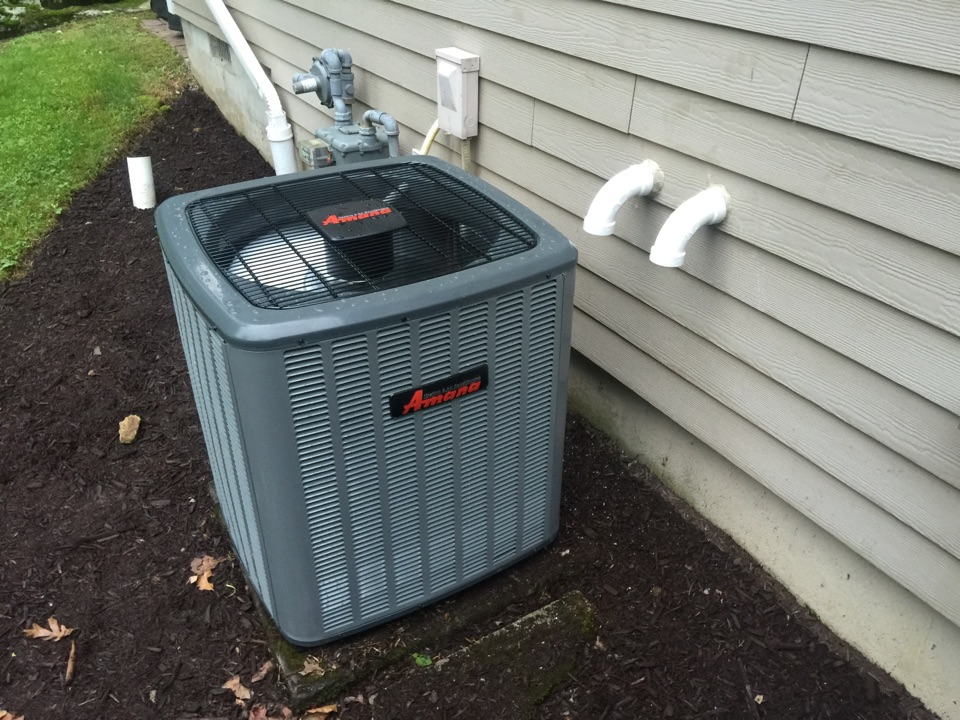 Randolph, NJ - Install amana high efficiency two stage gas furnace with two stage air conditioning