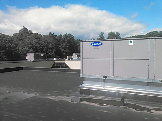 Mount Olive Township, NJ - Service four Carrier rooftop units.