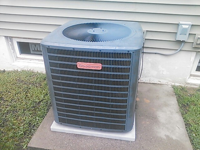 Dover, NJ - Repair goodman condenser. Was freon leak.