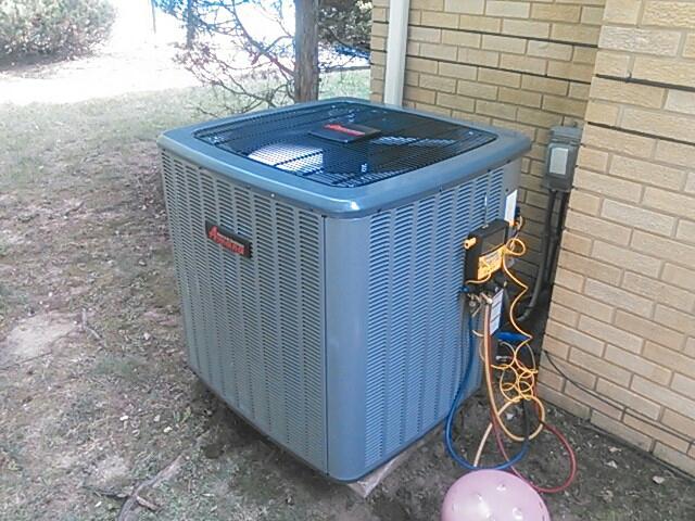 Millburn, NJ - Install new Amana air conditioning system.
