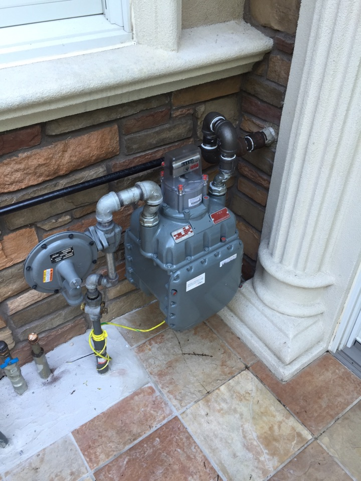 Morristown, NJ - Oil to gas conversion. Lp to natural gas conversion of furnace and hot water heater.
